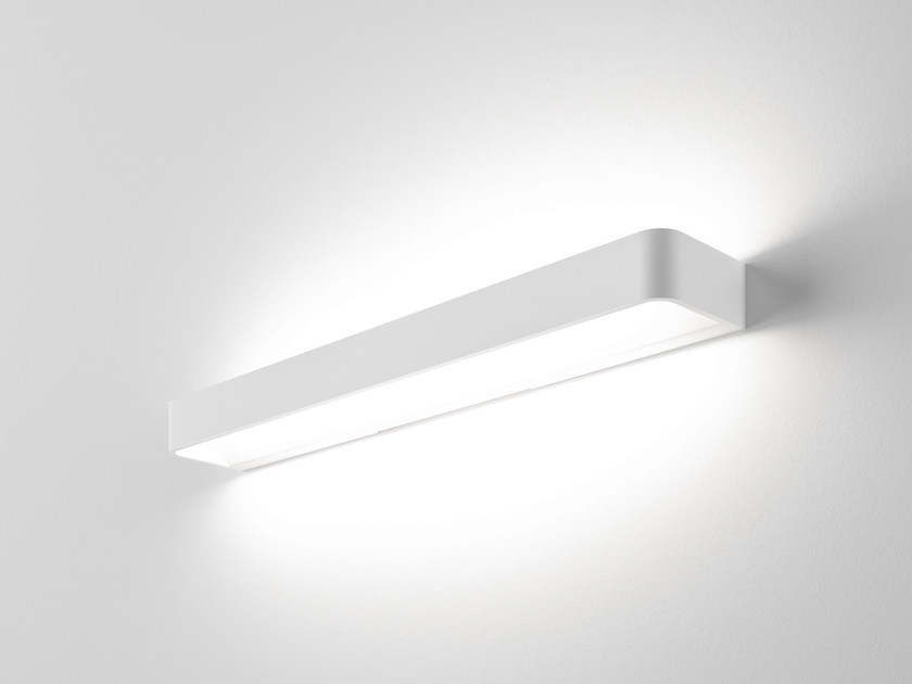 LED extruded aluminium wall light FRAME W3 - Rotaliana