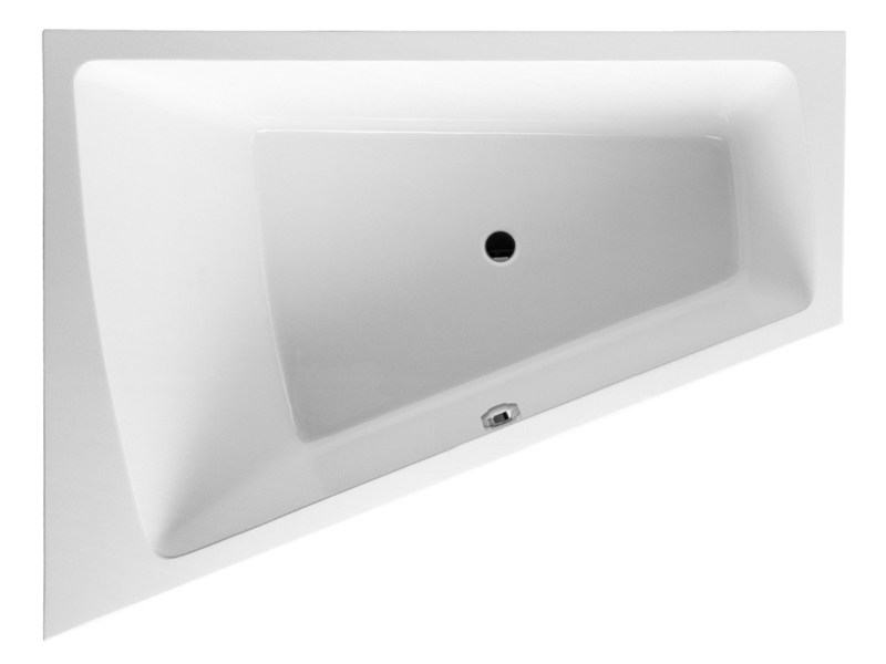Built-in corner bathtub PAIOVA   Built-in bathtub - DURAVIT