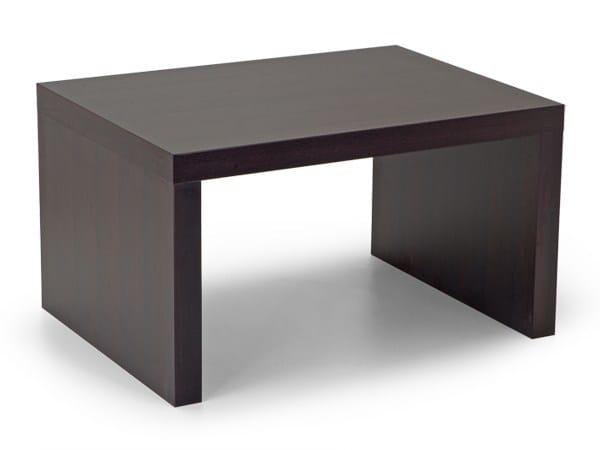 Rectangular bistro side table PIQUADRO | Wooden coffee table - Domingo Salotti