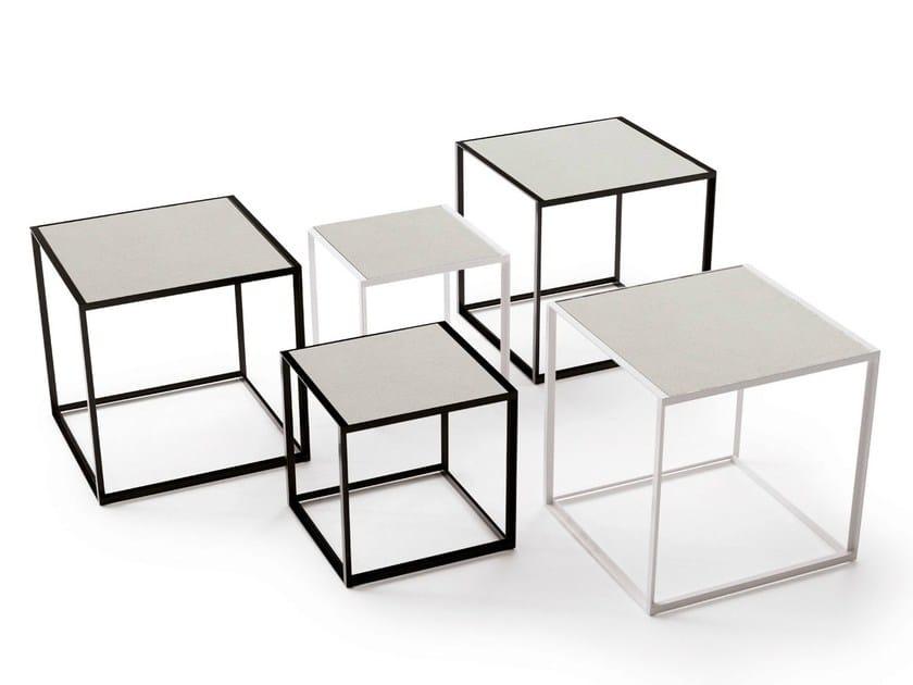 Square porcelain stoneware coffee table CANASTA '13 | Coffee table - B&B Italia Outdoor, a brand of B&B Italia Spa