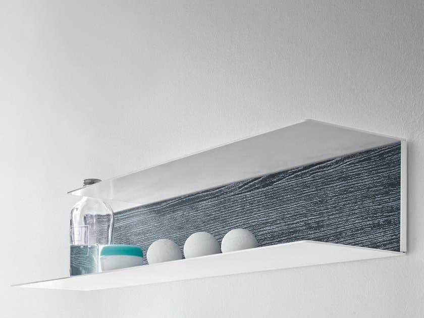Larch bathroom wall shelf 5.ZERO | Bathroom wall shelf - ARBLU