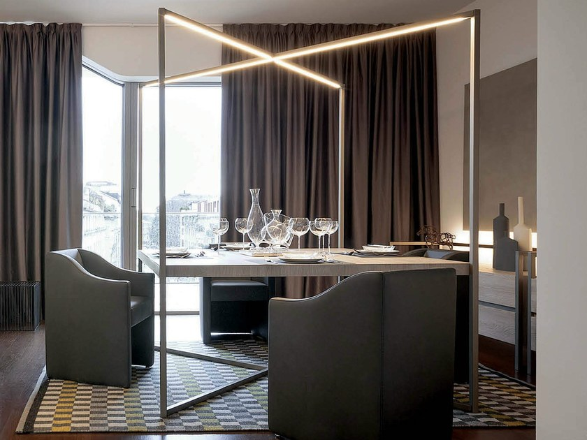 Table with light CONTINUUM | Table - Natevo