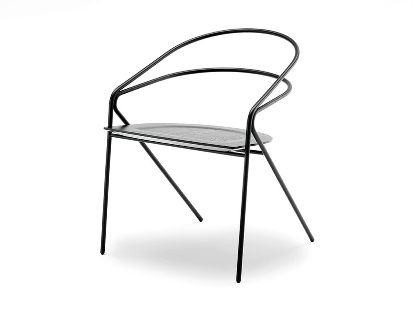 Steel chair GEORGE'S LIGHT - Living Divani