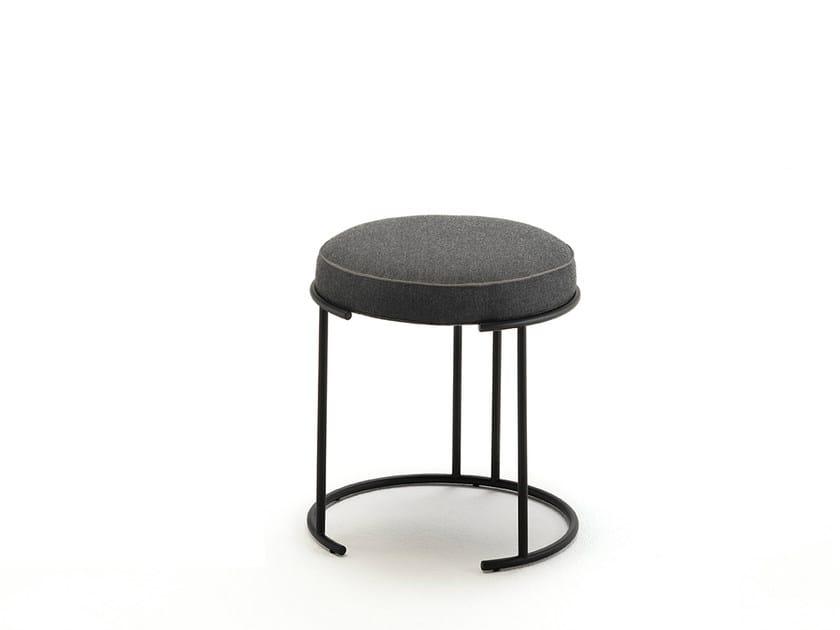 Low fabric stool NINA | Low stool - Living Divani