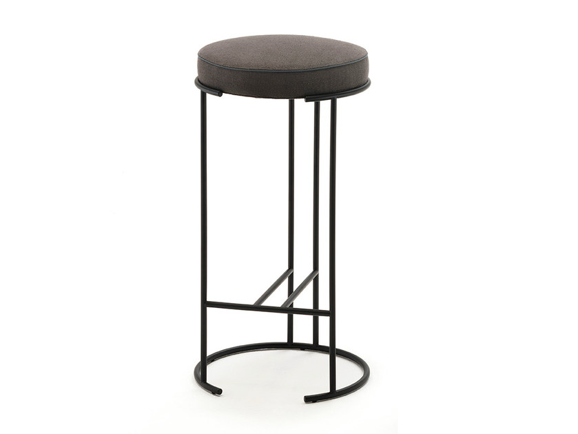 High stool with footrest NINA | High stool - Living Divani