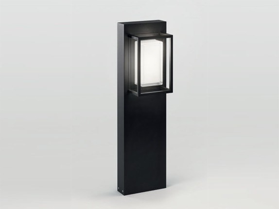 LED Garden bollard light MONTUR M P 70 LED | Bollard light - Delta Light