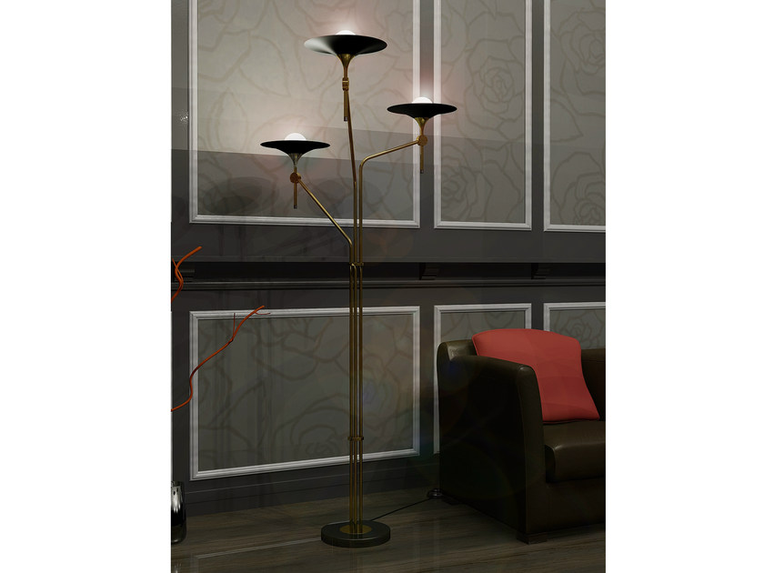 Indirect light floor lamp A-3 - Intueri Light