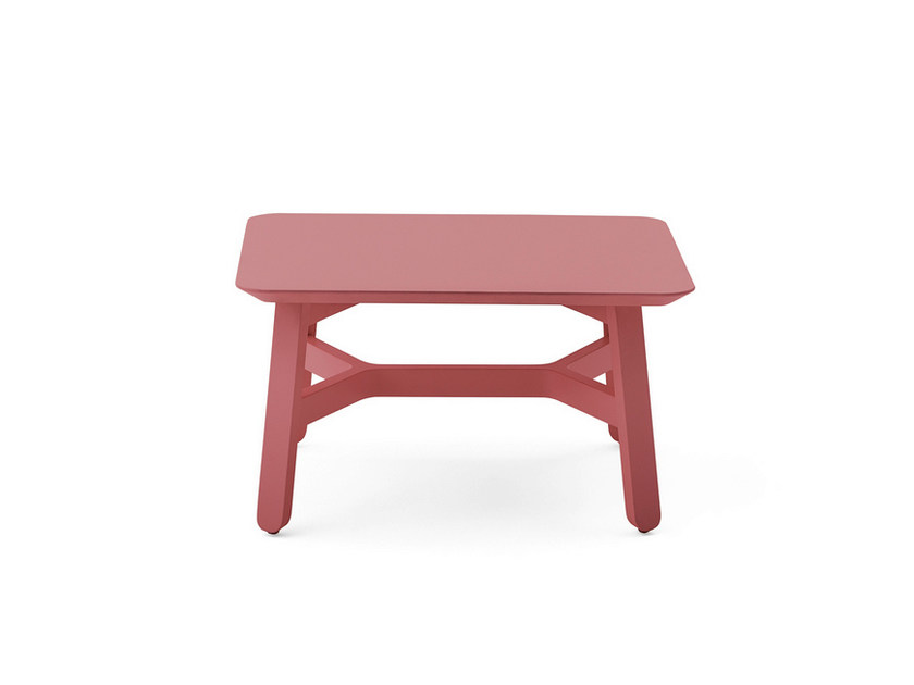Low MDF stool CROISSANT | Low stool by BILLIANI