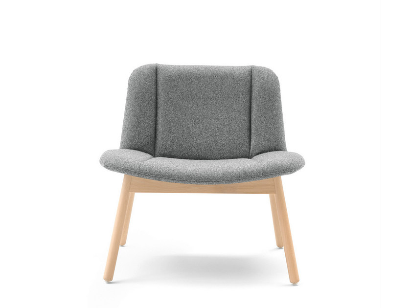 Upholstered fabric easy chair HIPPY | Easy chair - BILLIANI