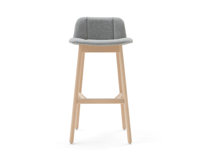 Upholstered fabric chair HIPPY | Chair by BILLIANI