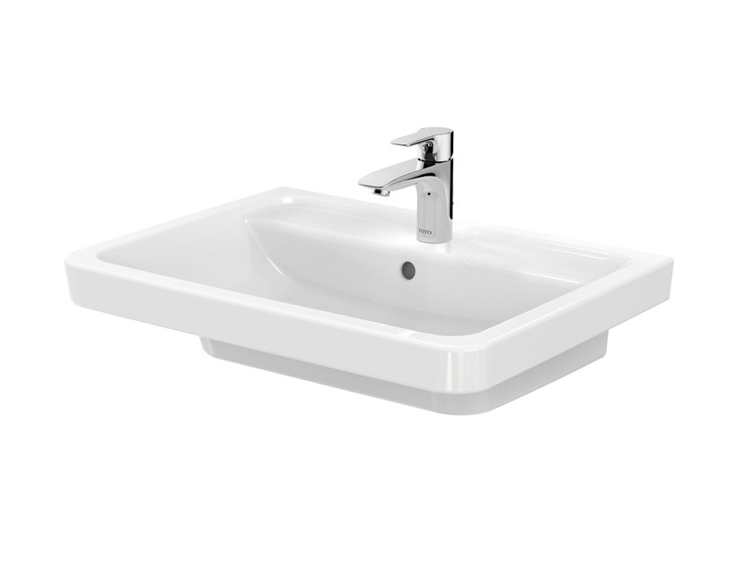 Washbasin with overflow CF | Washbasin with overflow - TOTO