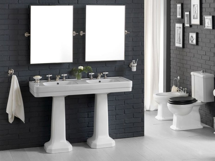 9130 lavabo sur pied by bleu provence. Black Bedroom Furniture Sets. Home Design Ideas