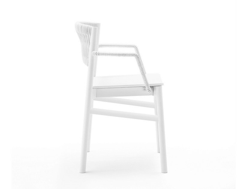 Beech chair with armrests LOAD | Chair with armrests by BILLIANI