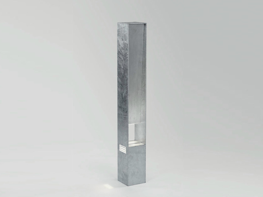 LED Garden steel bollard light DREVE - Delta Light