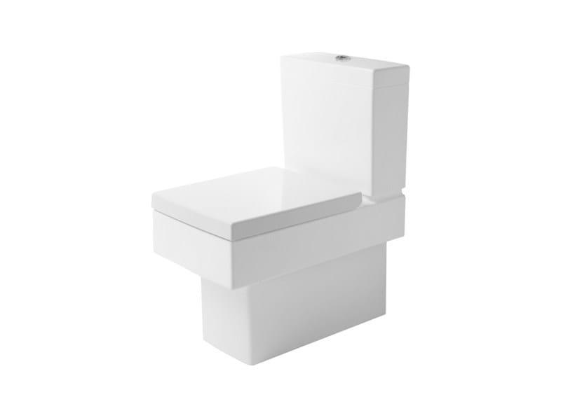 Close coupled ceramic toilet VERO | Close coupled toilet - DURAVIT