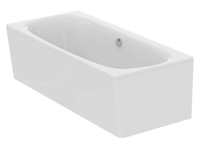 Vasca da bagno rettangolare in ceramica dea e3064 collezione dea by ideal standard italia for Vasca da bagno prezzi ideal standard