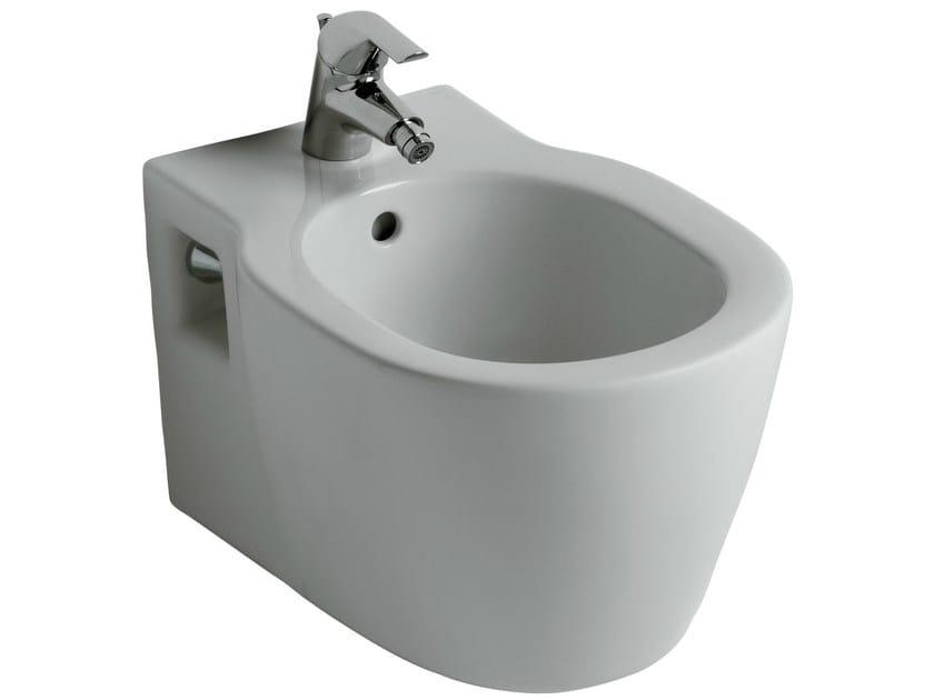Wall-hung ceramic bidet CONNECT - E7997 - Ideal Standard Italia