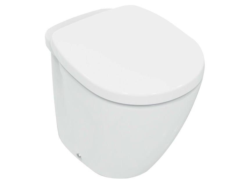 Ceramic toilet CONNECT - E8091 - Ideal Standard Italia