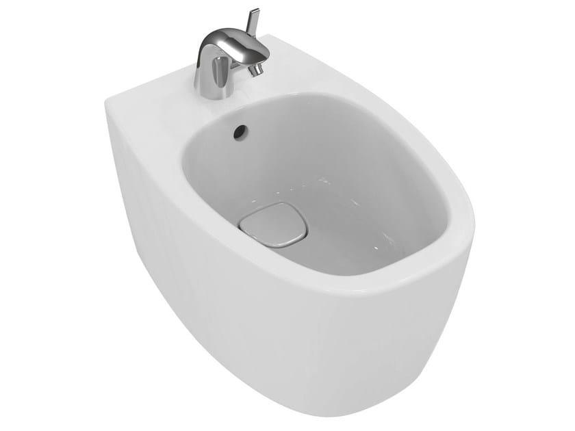 Wall-hung ceramic bidet DEA - T5098 - Ideal Standard Italia