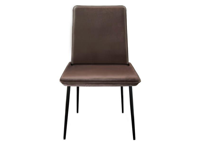 Upholstered fabric chair MELLOW | Chair - KFF