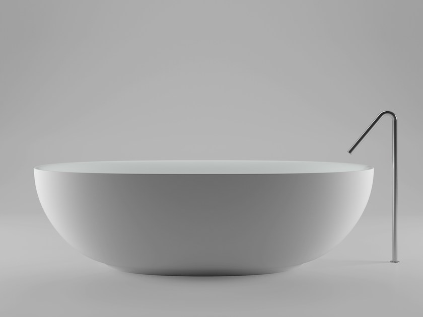 Fisher island bathtub by boffi design piero lissoni - Vasca da bagno libera installazione ...