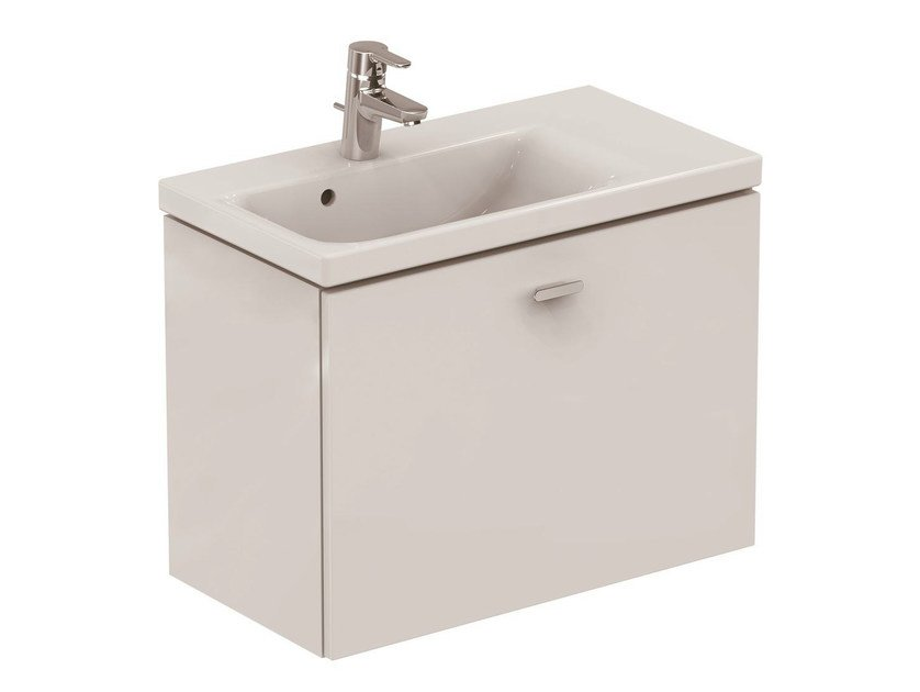 Wall-mounted vanity unit with drawers CONNECT SPACE - C6745 - Ideal Standard Italia