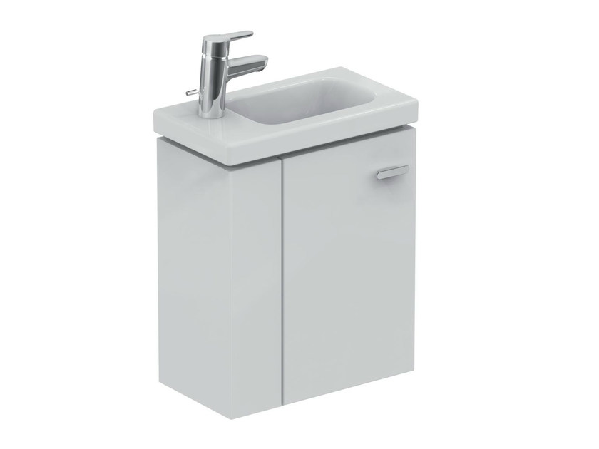 Single wall-mounted vanity unit with drawers CONNECT SPACE - E0370 - Ideal Standard Italia