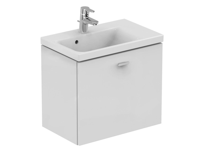 Single wall-mounted vanity unit with drawers CONNECT SPACE - E0315 - Ideal Standard Italia