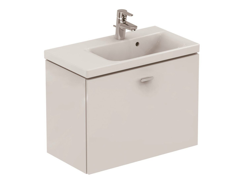 Wall-mounted vanity unit with drawers CONNECT SPACE - E0316 - Ideal Standard Italia