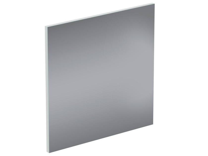 Square wall-mounted bathroom mirror CONNECT SPACE - E0383 - Ideal Standard Italia
