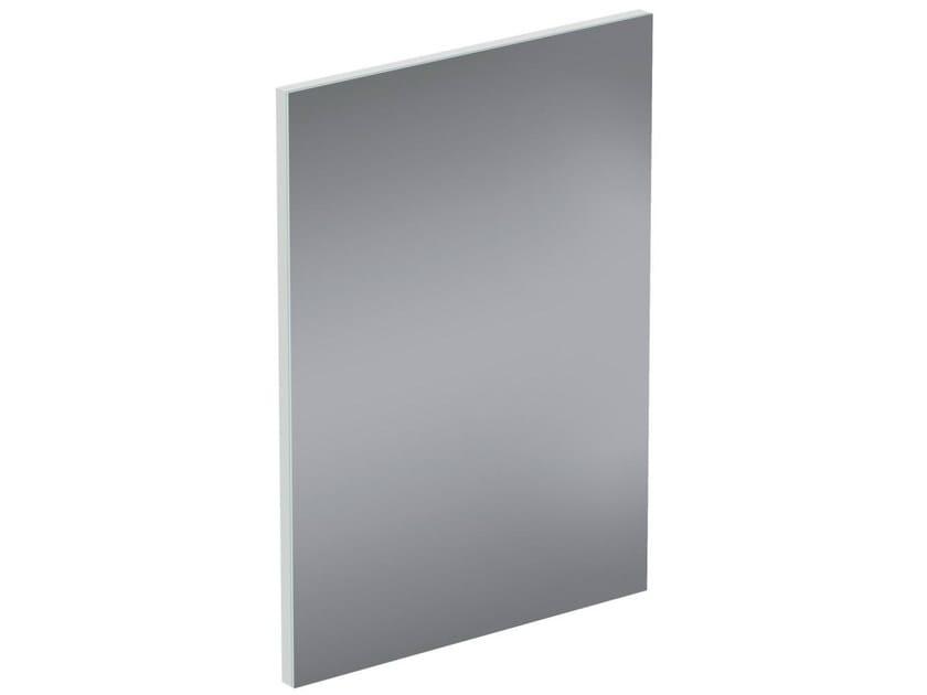 Rectangular wall-mounted bathroom mirror CONNECT SPACE - E0381 - Ideal Standard Italia