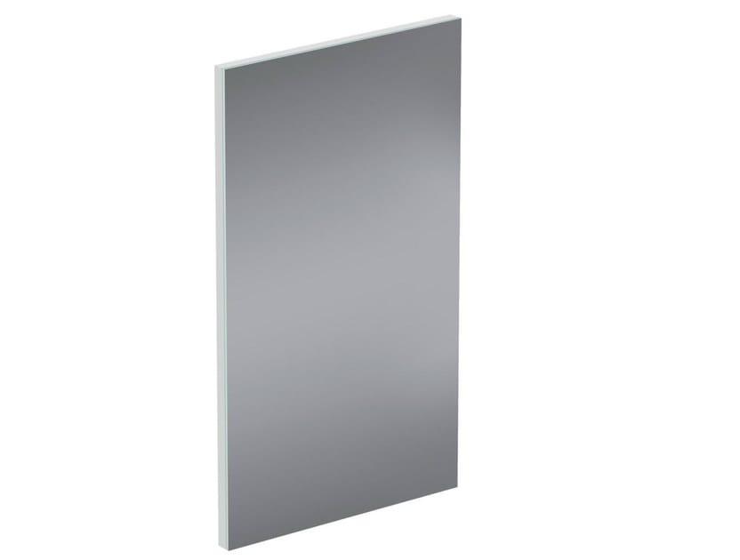 Rectangular wall-mounted bathroom mirror CONNECT SPACE - E0380 - Ideal Standard Italia