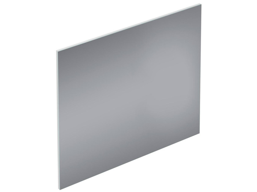 Rectangular wall-mounted bathroom mirror CONNECT SPACE - E0384 - Ideal Standard Italia