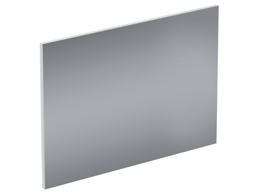 Rectangular wall-mounted bathroom mirror CONNECT SPACE - E0385 - Ideal Standard Italia