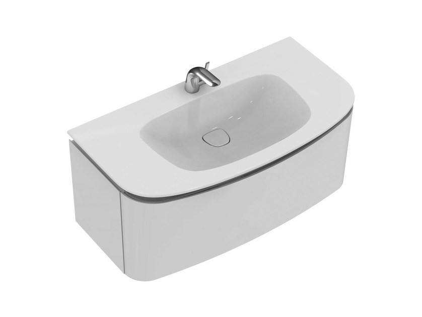 Single wall-mounted vanity unit DEA - T7852 - Ideal Standard Italia