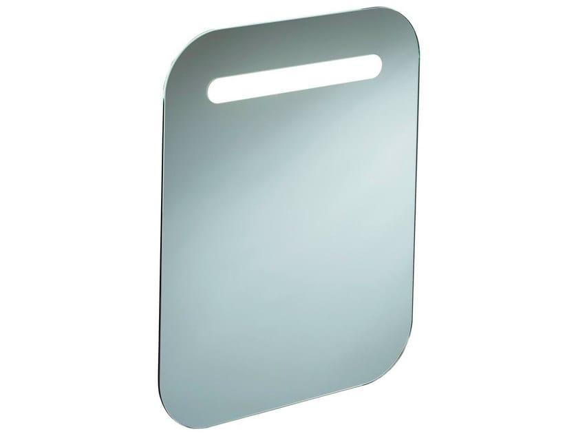 Rectangular bathroom mirror with integrated lighting DEA - T7857 - Ideal Standard Italia