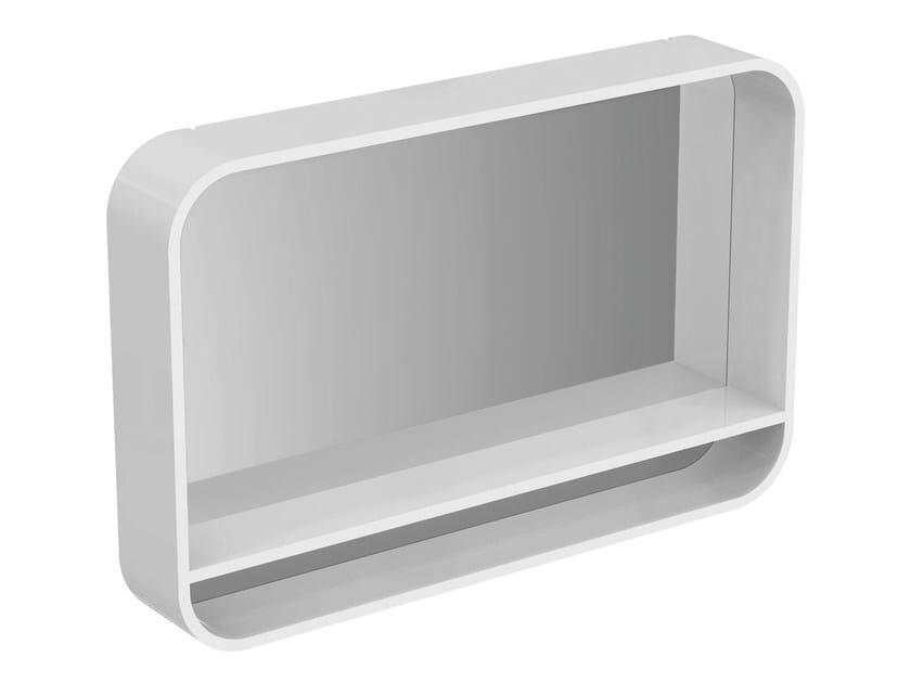 Bathroom mirror with integrated lighting DEA - T7863 - Ideal Standard Italia