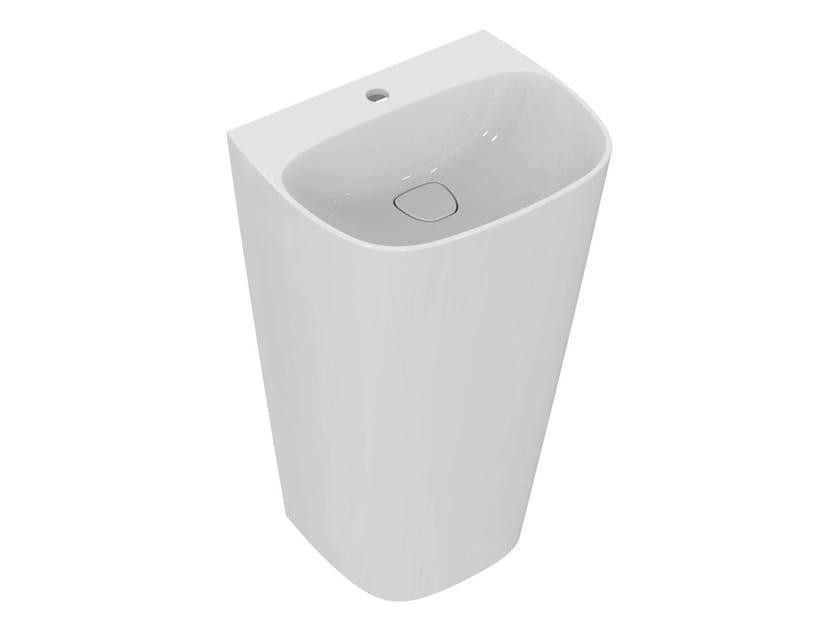 Single washbasin with overflow DEA - T0851 - Ideal Standard Italia
