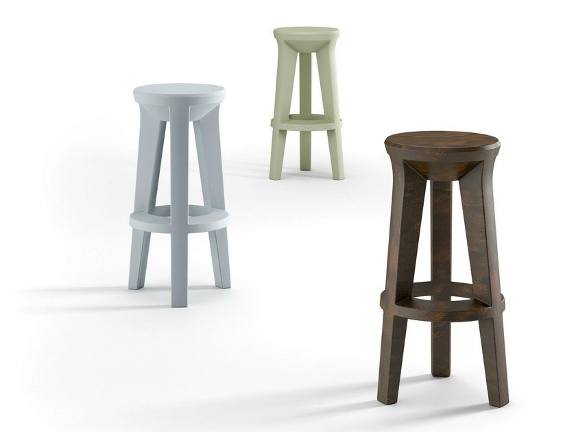 High polyethylene stool FROZEN STOOL - PLUST Collection by euro3plast