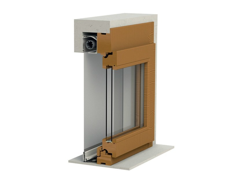 Built-in vertical insect screen CASPER   Vertical insect screen - Mv Line