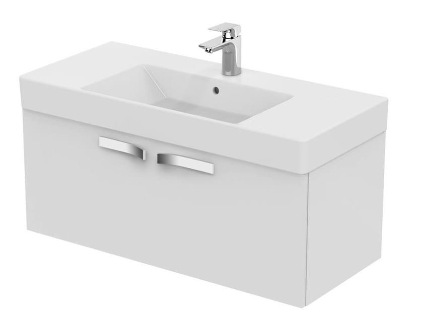Single wall-mounted vanity unit STRADA - K2660 - Ideal Standard Italia
