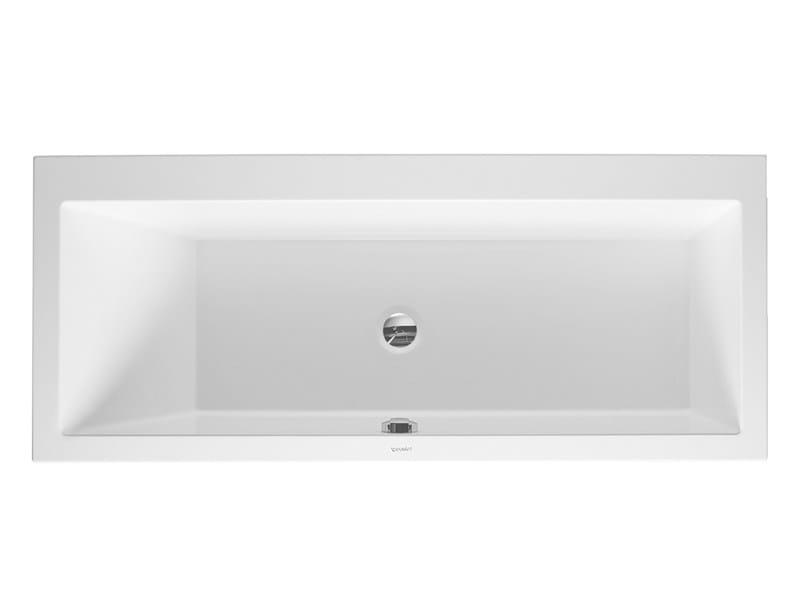 Vasca da bagno rettangolare da incasso vero vasca da - Vasca da bagno duravit ...