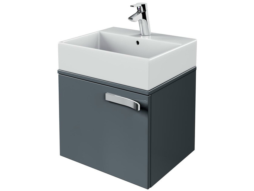 Single wall-mounted vanity unit with drawers STRADA - K2452 - Ideal Standard Italia