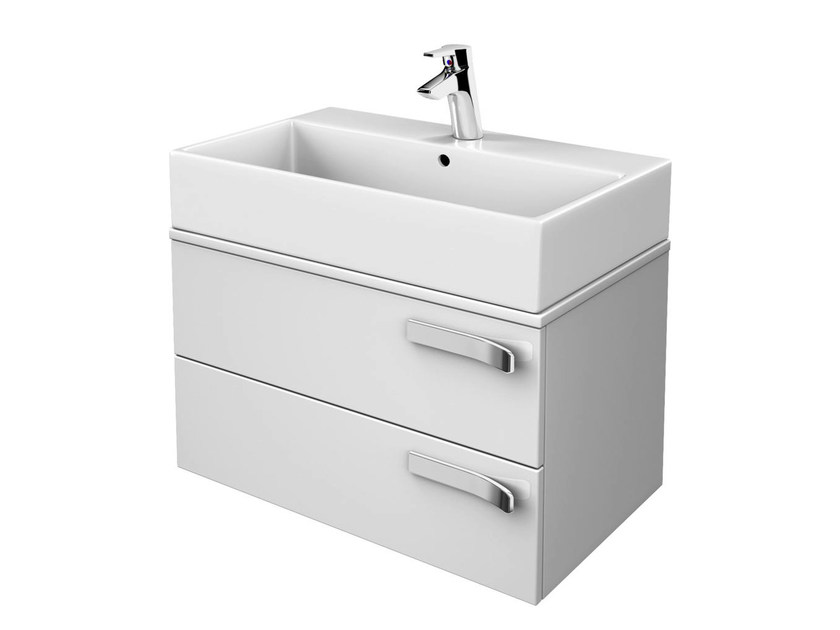 Single wall-mounted vanity unit with drawers STRADA - K2726 - Ideal Standard Italia