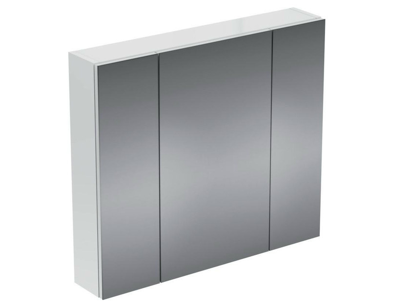 Wall-mounted bathroom mirror with cabinet STRADA - K2669 - Ideal Standard Italia