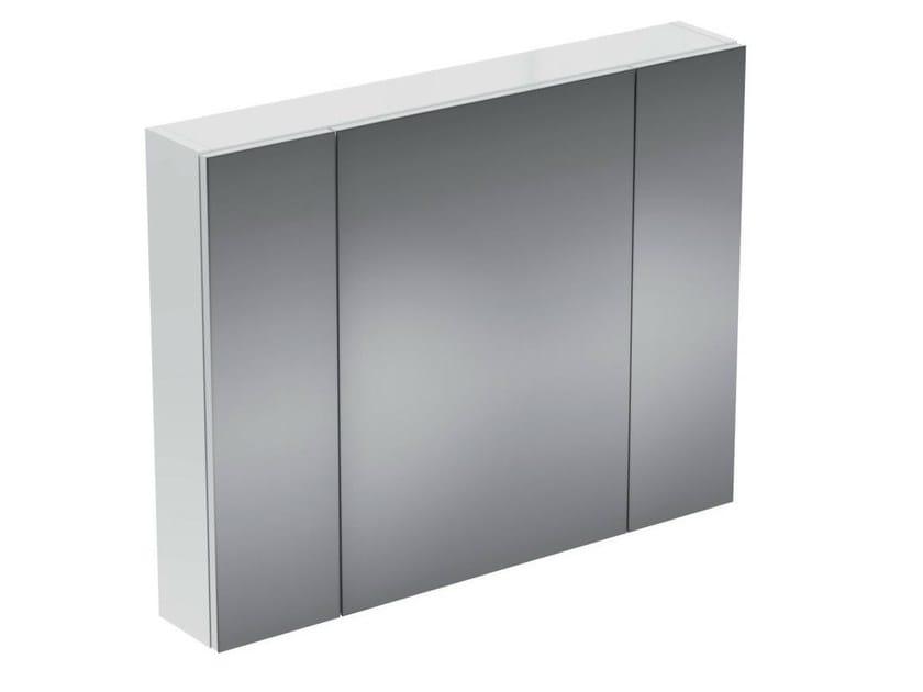 Wall-mounted bathroom mirror with cabinet STRADA - K2670 - Ideal Standard Italia
