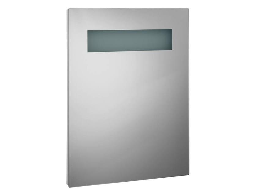 Wall-mounted bathroom mirror with integrated lighting STRADA - K2475 - Ideal Standard Italia