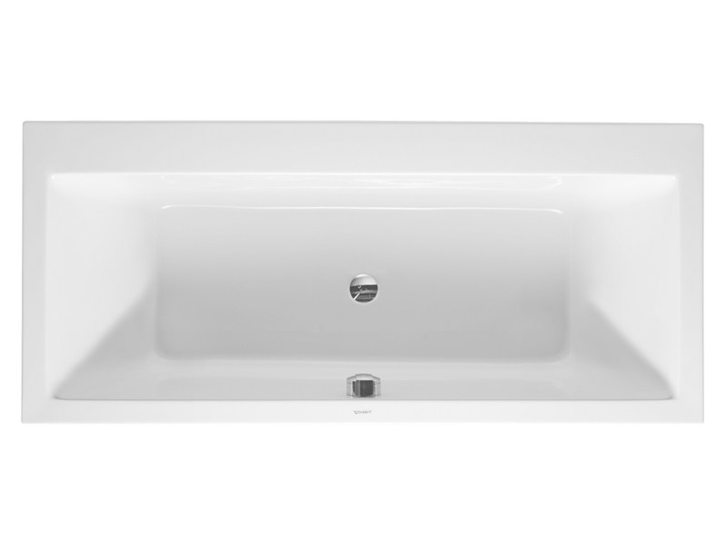 Built-in rectangular bathtub VERO | Built-in bathtub - DURAVIT