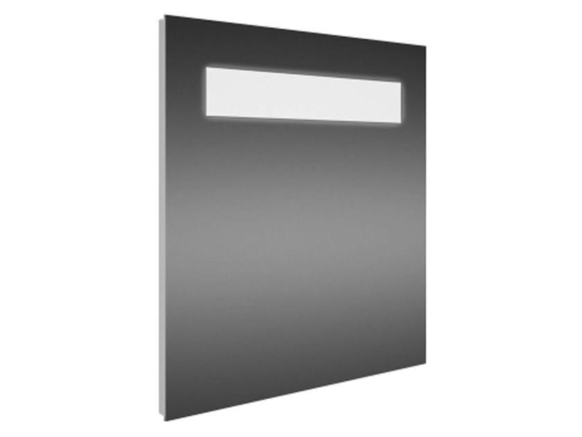 Wall-mounted bathroom mirror with integrated lighting STRADA - K2476 - Ideal Standard Italia