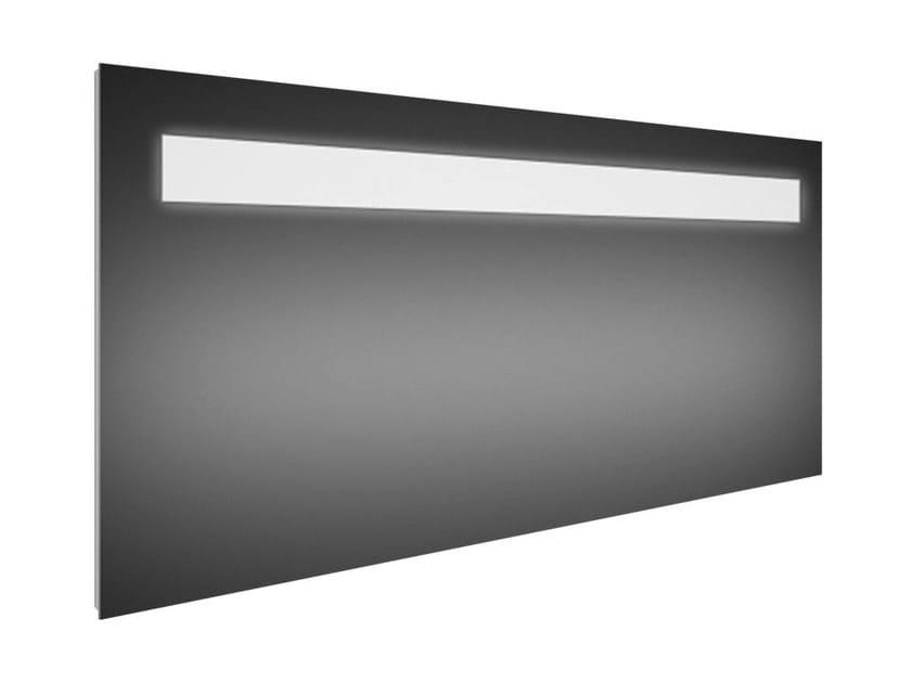Wall-mounted bathroom mirror with integrated lighting STRADA - K2480 - Ideal Standard Italia